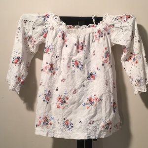 Loft off shoulder blouse